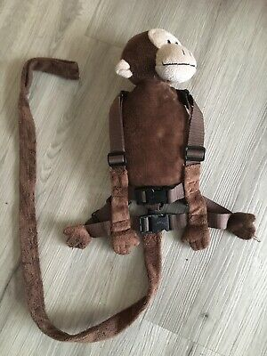 *price Reduced!!* Goldbug Monkey Backpack Toddler Reins Harness Vgc