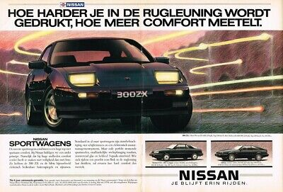 1987 Nissan 300ZX Sunny GTi 16V Coupe Silvia (NL, 2pg.) Advertisement 5187