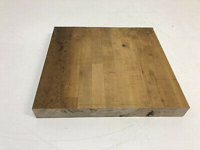 VINTAGE BUTCHER BLOCK Section wood side table top industrial cutting board  159