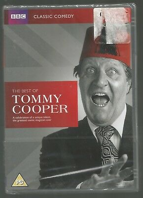 THE BEST OF TOMMY COOPER - BBC - CLASSIC COMEDY - sealed/new UK REGION 2 DVD
