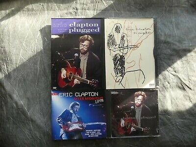 Eric Clapton - 24 Nights DVD (Sealed) Unplugged CD/DVD, After Midnight Live 2CD