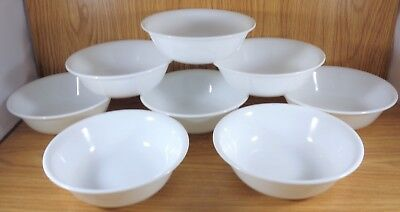 """Corelle 6 1/4"""" WINTER FROST WHITE Cereal Bowls Set of 8"""