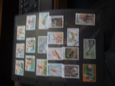 A selection of LAOS stamps