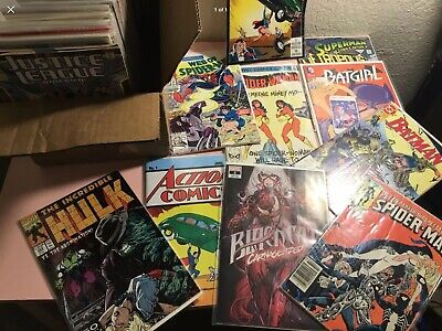 MARVEL & DC HUGE LOT (75 Comics)