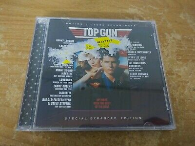 Top Gun Motion Picture Soundtrack Special Expanded Edition Music Cd Album Disc