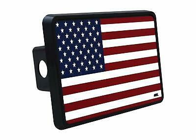 Rogue River Tactical Pink USA American Flag Trailer Hitch Cover Plug US Patriotic for Her Women