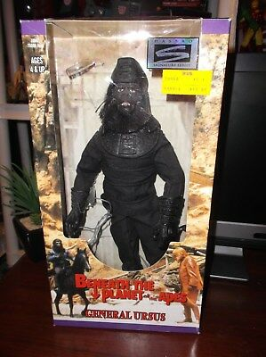 General Ursas Planet of the Apes boxed 12 inch figure Signature Series
