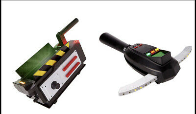 GHOSTBUSTERS GHOST TRAP & PKE METER Halloween Lights Sound Costume Cosplay New🔥