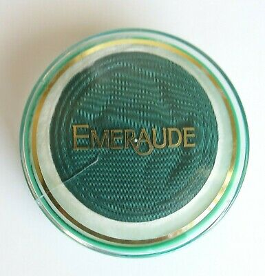Vintage Emeraude Coty Dusting Powder 1.75 OZ Sealed