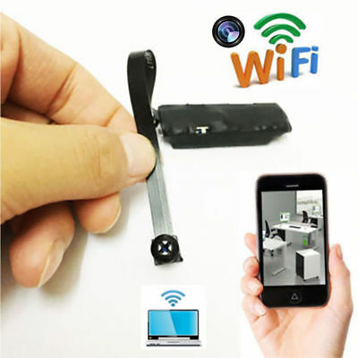 WiFi Mini Hidden Spy Camera Wireless HD 1080P Digital Video Motion Activated Cam
