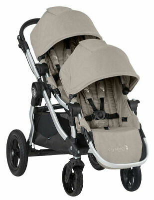 Baby Jogger City Select Twin Tandem Double Stroller with Second Seat Paloma