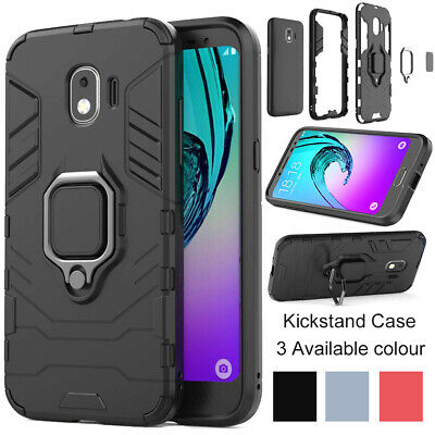 Heavy Duty Hybrid Armor KickStand Hard Case Cover For Samsung Galaxy J2 Pro 2018