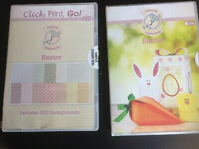 Cutting Craftorium 'Easter' USB with Click, Print Go CD