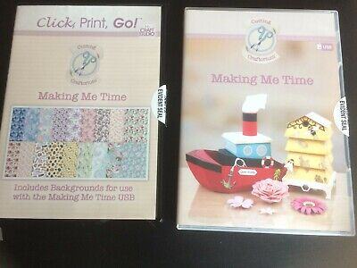 Cutting Craftorium 'Making Me Time' USB with Click, Print Go CD
