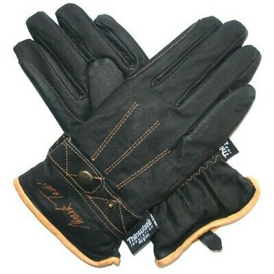 Mark Todd Winter Riding Glove - Black, Small - Thinsulate Gloves Adult