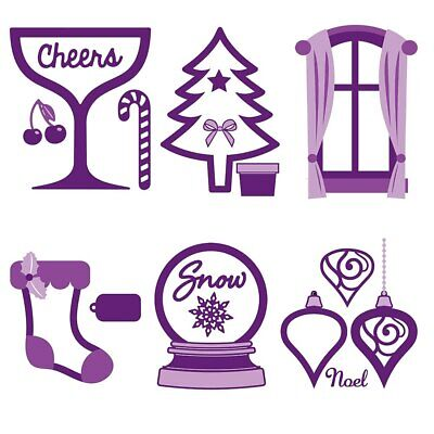 Shaker Cards Christmas Metal Cutting Dies Stencil For Scrapbooking Cards Crafts