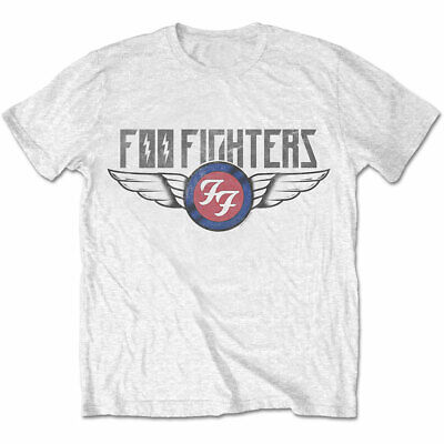 OFFICIAL FOO FIGHTERS T-SHIRT Flash Wings (All Sizes) Logo Dave Grohl