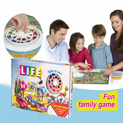 The Game of Life Board Game Newest Edition Fun Party Kids Family Interactive Hot