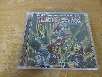 Monster High Boo York Boo York A Monsterrific Musical Motion Picture Music Cd