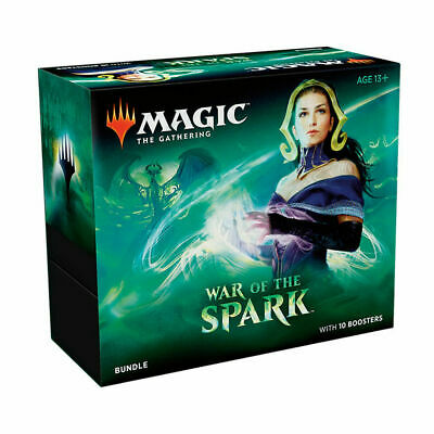 WAR OF THE SPARK BUNDLE Magic the Gathering MTG Sealed Box 10 BOOSTERS