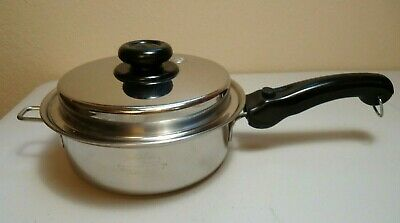 Saladmaster Versa Tec 2 Qt Pan TP304-316 Surgical Stainless Steel