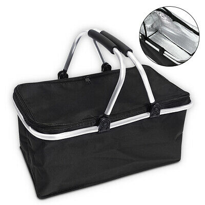 30 L Waterproof Thermal Insulated Cooler Lunch Bag Box Carrier Work Case