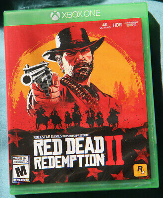 Red Dead Redemption 2 (Xbox One, 2018) Brand New