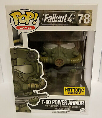 Funko Pop! Games Fallout T-60 Power Armor Hot Topic Exclusive #78