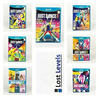 Wii U - Just Dance - Choose Title Or Bundle Up - Same Day Dispatch - VGC
