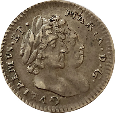 1693 Maundy Twopence 2p William & Mary  ®J30