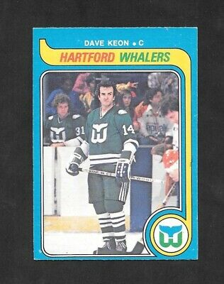 1979-80  Opc Hockey , # 279 , Dave Keon , Hartford Whalers