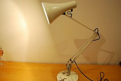 Collectable vintage Herbert Terry Angle Poise light 3 spring - original sticker