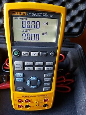 Fluke 725 Multifunction Process Calibrator.IN USED WORKING CONDITION.CALIBRATED