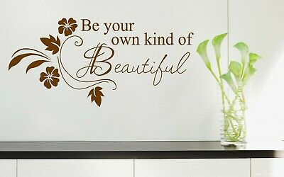 Be your own kind of Beautiful Wall Quotes Wall Stickers Wall Art UK 88