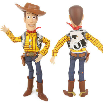 Toy Story 4 Woody 38CM Doll Talking Voice Action Figure Decor Kids Toy Gift AU