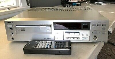 Sony Cdp-111 Stereo Compact Dist Cd Player With Remote