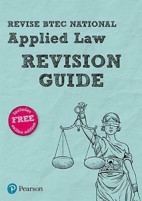 Revise BTEC National Applied Law Revision Guide (REVISE BTEC Nationals in Applie