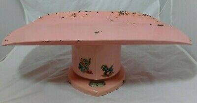 Antique 1950 Counselor Baby Scale - Pink