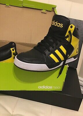 ADIDAS MEN'S NEO Raleigh High Top Size 8 Sneakers $40.00
