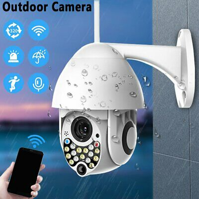 US 1080P WIFI IP Camera 17LED 2MP Wireless Outdoor CCTV HD Home Security IR VR