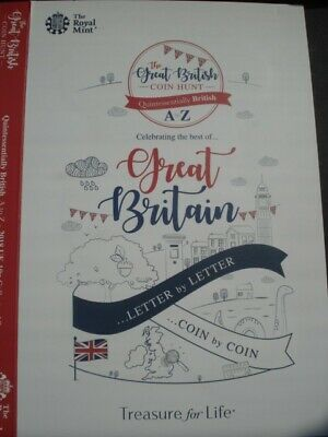 The Great British Coin Hunt 10p Coin Collector Album Royal Mint Album 2018 New