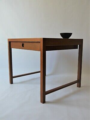 1960s VINTAGE ORIGINAL MIDCENTURY NIGHTSTAND BY SYKKYLVEN NORWAY BEDSIDE TABLE