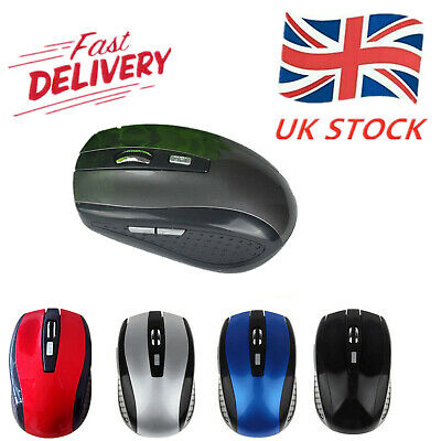 Hot 2.4GHz Wireless Optical Mouse Mice & USB Receiver For PC Laptop Computer