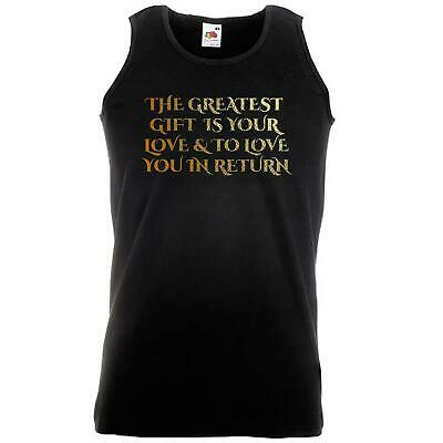 Unisex Black Poldark Greatest Gift Vest Love Return Ross Fan Art