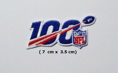 NFL 100 Season  Sport Logo  Patch Iron and sewing on Clothes