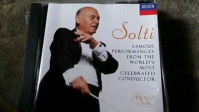 """""""Solti-Famous Performances from the World's Most Celebrated Conductor"""" CD"""