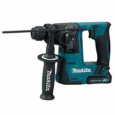 1499814-Makita 1 TASSELLATORE 10,8V 2x2Ah-14mm-SDS Plus compatibile-2FUNZ. -1J-A