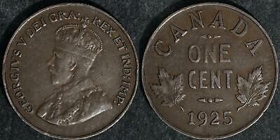 1925 Canada  small cent very nice circulated condition
