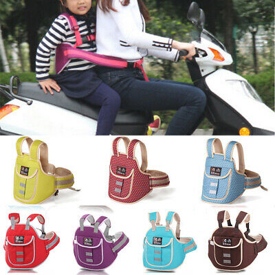 Baby Kid children Safety Seat Belt protector Harness adjustable for Motorcycle