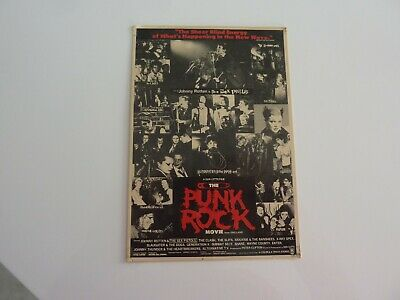 Carte postale Johnny Rotten  The Punk Rock Movie  AC 359